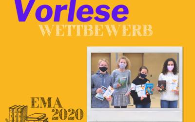 Vorlesewettbewerb: Sophie (6a) gewinnt Schulentscheid