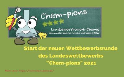 """Macht mit! """"Chem-pions"""" startet wieder!"""