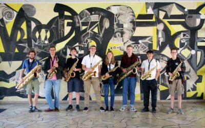 Konzert der EMA-Saxophonensembles in der Trinitatiskirche